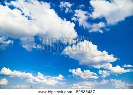 Scene Skies Blue