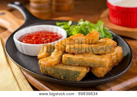 Deep Fried Zucchini Sticks