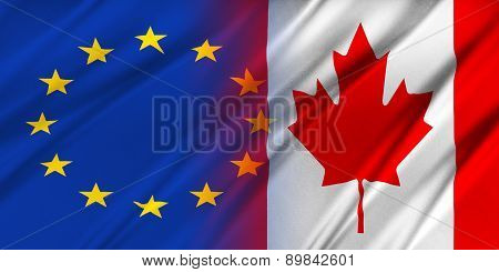 European Union And Canada.
