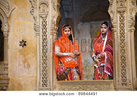 Domestic Tourists, Jaisalmer, India