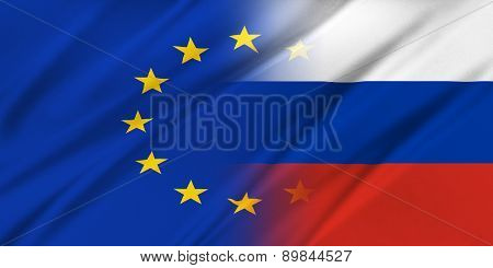 European Union And Russia.