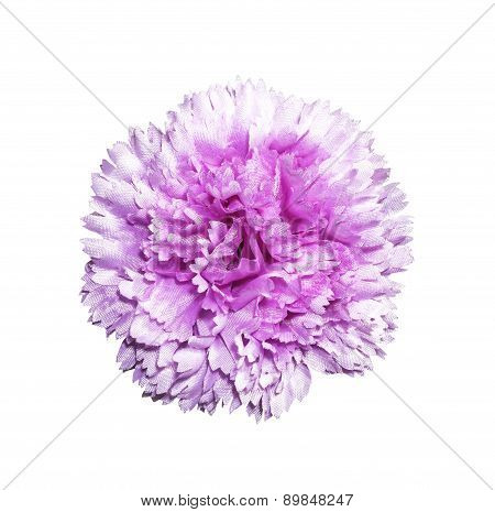 Magenta Artifical Flower Isolated