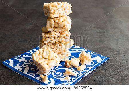 Puff Rice Cake