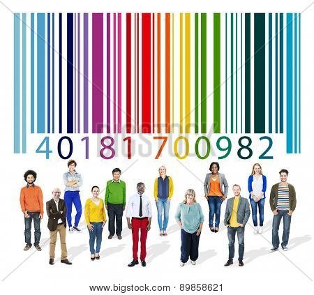 Barcode Data Technology Products Tag Shopping Concept