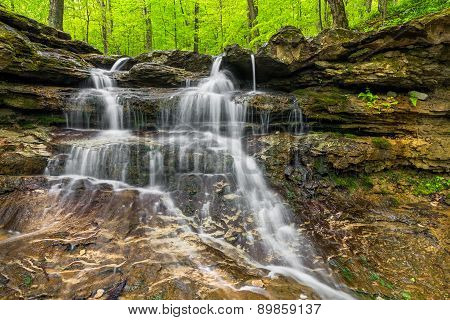 Small Indiana Waterfall