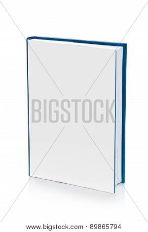 Book With Blank Covers For Mock Up Design