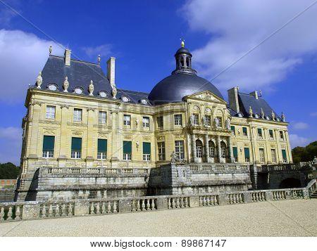 Vaux Le Vicomte, France, The Castle Near Paris