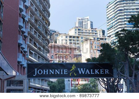 Johnnie Walker Ad For The Monaco Grand Prix 2015