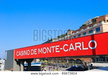Casino De Monte-carlo Ad In Monaco