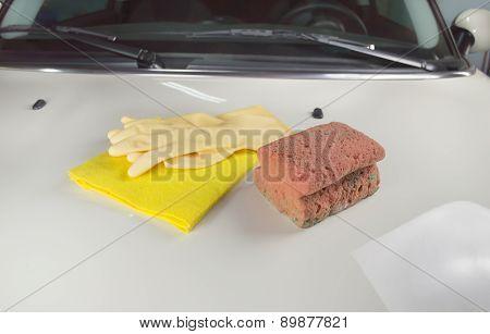Cloth And Sponge