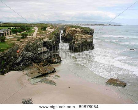 Cathedrals Beach