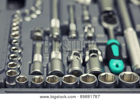 Set Of Wrenches And Bits