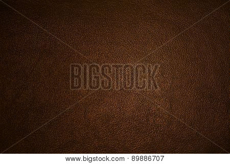 texture of the leather