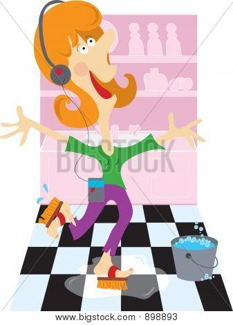 Washing_Floor_Lady