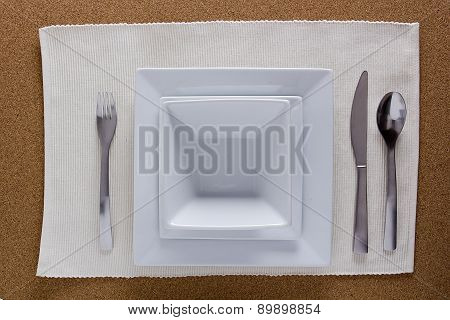 Serving Set For Dinner