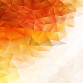 picture of parallelepiped  - Geometric background triangle with place for your text - JPG