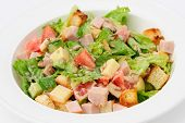 stock photo of sunflower-seed  - salad with cheese - JPG
