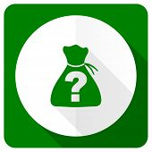 image of riddles  - riddle flat icon   - JPG