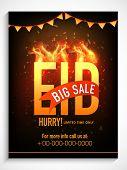 picture of eid festival celebration  - Creative poster - JPG