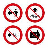 foto of bike path  - No - JPG