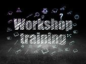 picture of training room  - Education concept - JPG