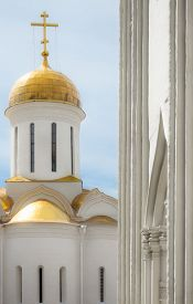 picture of trinity  - Trinity Cathedral in the Trinity Lavra of St - JPG