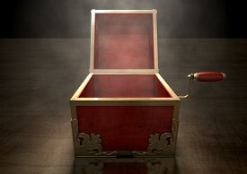 pic of jack-in-the-box  - An ornate antique open jack - JPG