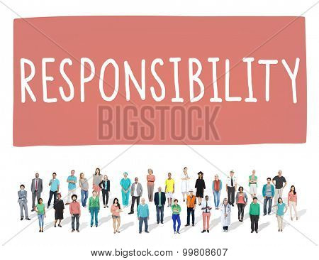 Responsibility Obligation Duty Roles Job Concept
