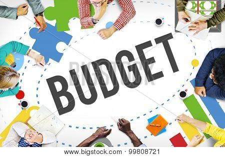 Budget Banking Accounting Investment Bookkeeping Concept