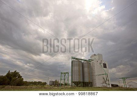Wooden Grain Elevator