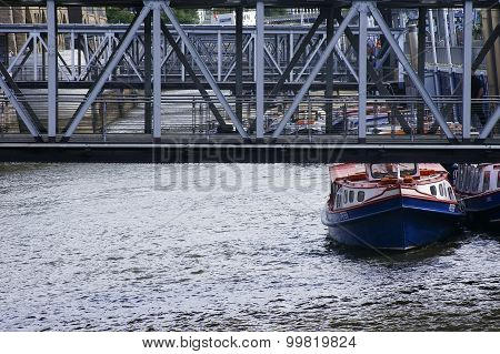 St. Pauli-pier Hamburg