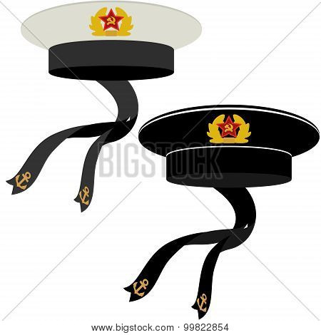 Military Headgear Soviet Navy