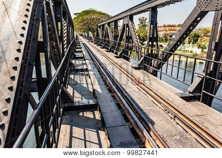 Passing The Bridge On The River Kwai