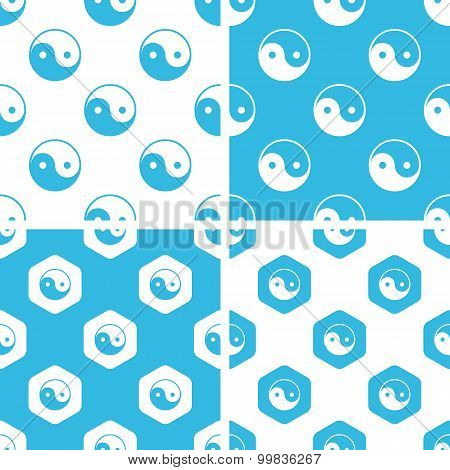Ying yang patterns set