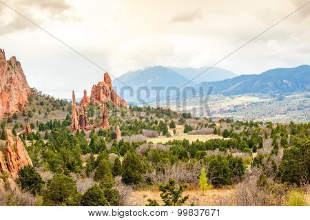 Garden Of The Gods, Colorado, Usa