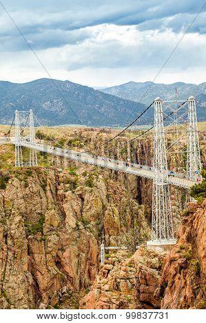 Royal George Suspension Bridge, Colorado, Usa
