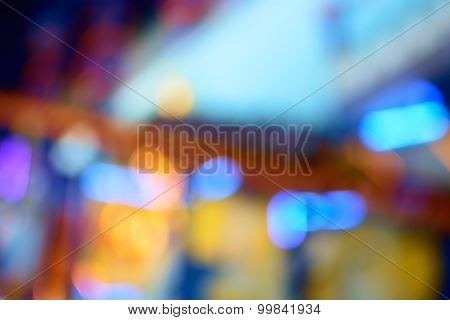 Blurred Luxurious interior, abstract blur background for web design