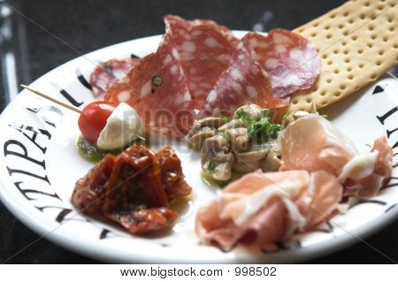 Small Plate Of Antipasto