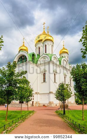 Ekaterina's Cathedral In Pushkin