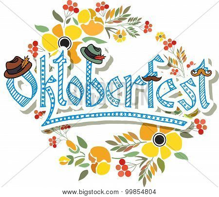 Hand Sketched Oktoberfest Icon
