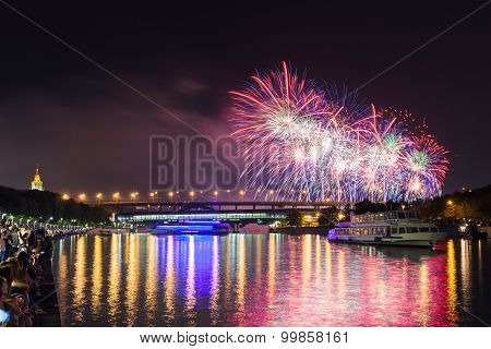 Moscow International Firework Festival 2015