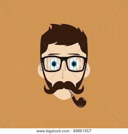 pipe smoker guy