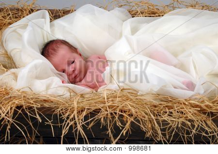 Jesus In A Manger