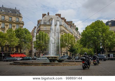 Victor Hugo Plaza in Paris, France