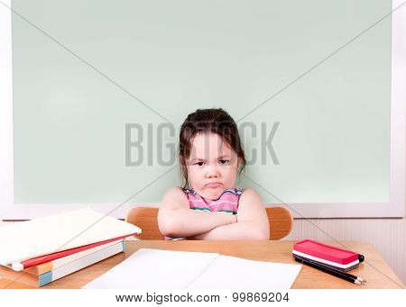 Grumpy Student