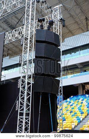 Sound system for concert