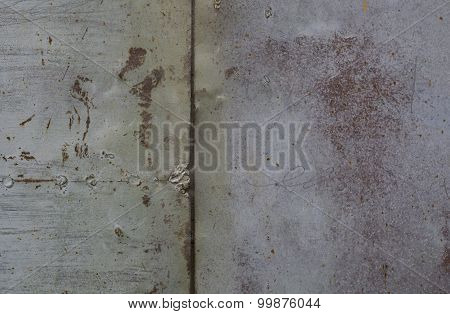 Rusty metal wall. Old rusty metal plategrunge texture