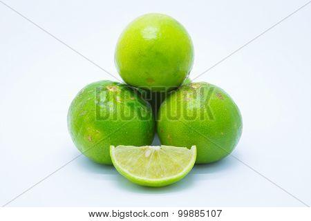 Fresh green lames