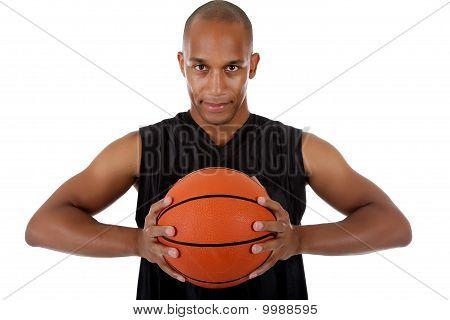 Jovem Africano de basquetebol