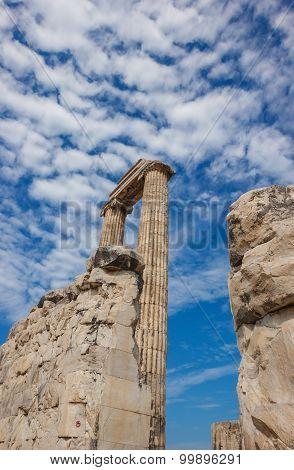 Columns Temple Apollo